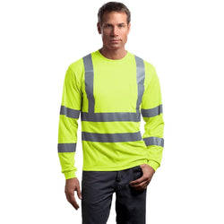 CS409 CornerStone® - ANSI 107 Class 3 Long Sleeve Snag-Resistant Reflective T-Shirt (1592067915818)