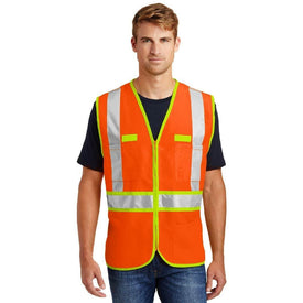 CSV407 CornerStone® - ANSI 107 Class 2 Dual-Color Safety Vest (1592889868330)