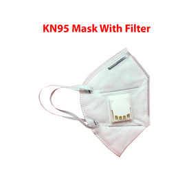 KN95 FACE MASK WITH FILTER (4700528934990)