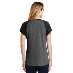 LNEA107 New Era® Ladies Heritage Blend Varsity Tee