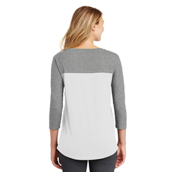DT2700 District® Women's Rally 3/4-Sleeve Tee