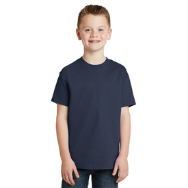5450 Hanes® - Youth Tagless® 100% Cotton T-Shirt (1360222617642)