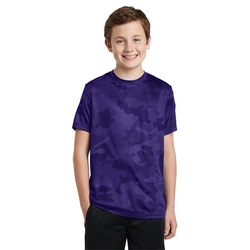 YST370 Sport-Tek® Youth CamoHex Tee