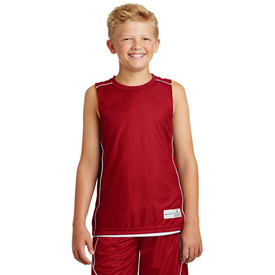 YT555 Sport-Tek® Youth PosiCharge® Mesh Reversible Sleeveless Tee (1418137927722)