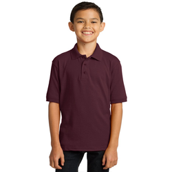 KP55Y Port & Company® Youth Core Blend Jersey Knit Polo (1367629332522)