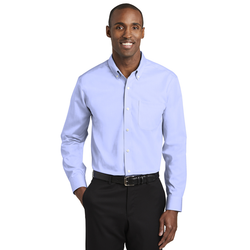 TLRH240 Red House® Tall Pinpoint Oxford Non-Iron Shirt (1562153615402)