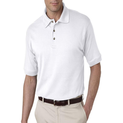 U8505 UltraClub Men's Egyptian Interlock Polo