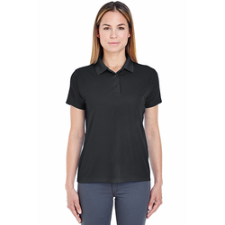 8255L UltraClub Ladies' Cool & Dry Jacquard Performance Polo