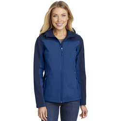 L335 Port Authority® Ladies Hooded Core Soft Shell Jacket (1542428033066)