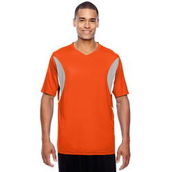 TT10 Team 365 Men's Short-Sleeve Athletic V-Neck Tournament Jersey