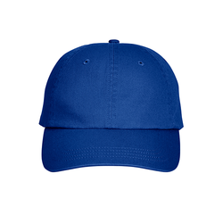 8121 UltraClub Adult Classic Cut Cotton Twill 6-Panel Cap