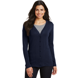 L515 Port Authority® Ladies Modern Stretch Cotton Cardigan (1877122383914)