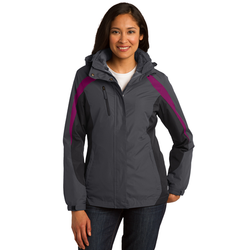 L321 Port Authority® Ladies Colorblock 3-in-1 Jacket (1550705360938)