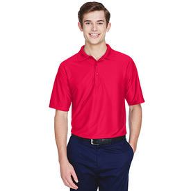 8413 UltraClub Men's Cool & Dry Elite Tonal Stripe Performance Polo (1769021538346)
