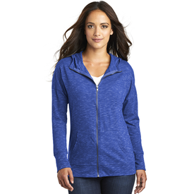 DT665 District ® Women's Medal Full-Zip Hoodie (1879326556202)
