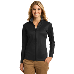 L805 Port Authority® Ladies Vertical Texture Full-Zip Jacket (1571365257258)