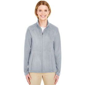 8181 UltraClub Ladies' Cool & Dry Full-Zip Microfleece (1773891387434)