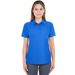 8240L UltraClub Ladies' Cool & Dry Pebble-Knit Polo