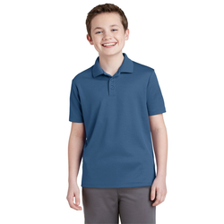 YST640 Sport-Tek® Youth PosiCharge® RacerMesh® Polo (1351773093930)