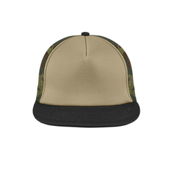 DT624 District ® Flat Bill Snapback Trucker Cap