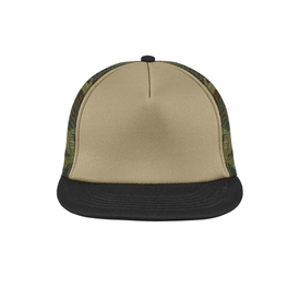 DT624 District ® Flat Bill Snapback Trucker Cap (1864624767018)