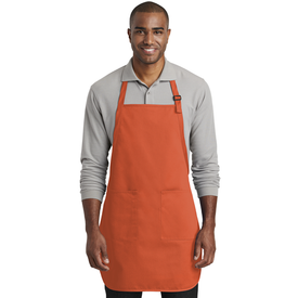 A600 Port Authority ® Full-Length Two-Pocket Bib Apron (1878505488426)