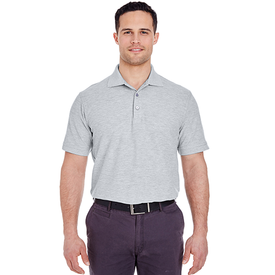 8560 UltraClub Men's Basic Blended Piqué Polo (1782851698730)