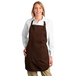 A500 Port Authority® Full-Length Apron with Pockets (1593266241578)