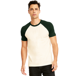 N3650 Next Level Unisex Raglan Short-Sleeve T-Shirt (1884194471978)