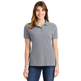LKP1500 Port & Company® Ladies Ring Spun Pique Polo (1367713480746)