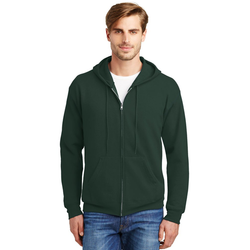 P180 Hanes® - EcoSmart® Full-Zip Hooded Sweatshirt (1401822871594)