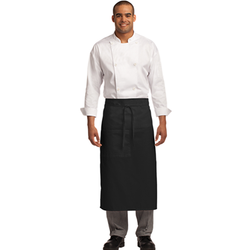 A701 Port Authority® Easy Care Full Bistro Apron with Stain Release (1593337905194)