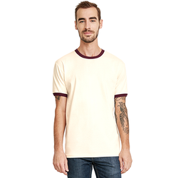 3604 Next Level Unisex Ringer T-Shirt (1883450343466)