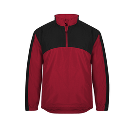 BG7644 Badger Adult Contender 1/4 Zip Jacket (1843892289578)