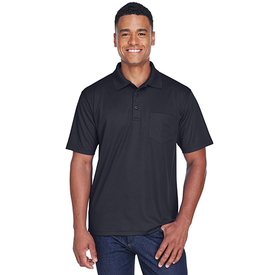 8210P UltraClub Adult Cool & Dry Mesh Piqué Polo with Pocket (1769357770794)