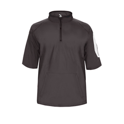 BG7642 Badger Adult Sideline Short Sleeve Pullover (1843874791466)