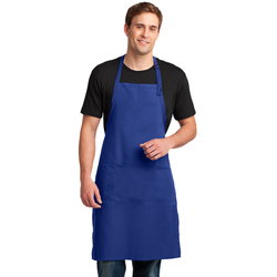 A700 Port Authority® Easy Care Extra Long Bib Apron with Stain Release (1593297010730)