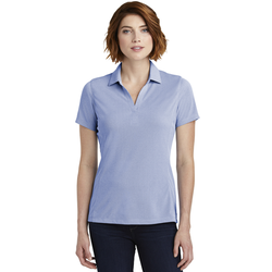 LK582 Port Authority ® Ladies Poly Oxford Pique Polo (1878647832618)
