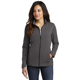 LOG725 OGIO ® Ladies Exaction Soft Shell Jacket (1604736221226)