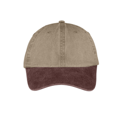 CP83 Port & Company® -Two-Tone Pigment-Dyed Cap