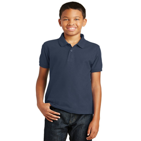 Y100 Port Authority® Youth Core Classic Pique Polo (1369282117674)