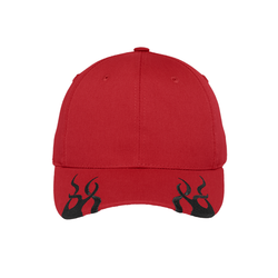 C857 Port Authority® Racing Cap with Flames (1644221890602)