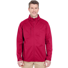 8477 UltraClub Men's Solid Soft Shell Jacket (1779620544554)