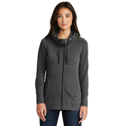LNEA511 New Era® Ladies Tri-Blend Fleece Full-Zip Hoodie