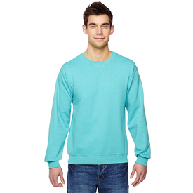 SF72R Fruit of the Loom Adult 7.2 oz. SofSpun® Crewneck Sweatshirt (1847645077546)