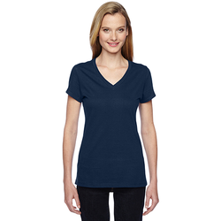 SFJVR Fruit of the Loom Ladies' 4.7 oz. Sofspun® Jersey Junior V-Neck T-Shirt