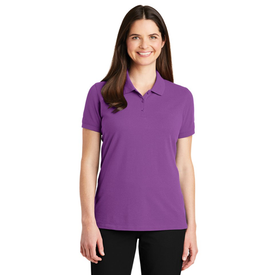 LK8000 Port Authority® Ladies EZCotton™ Polo (1379007954986)