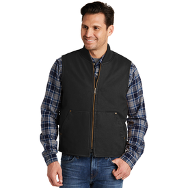 CSV40 CornerStone® Washed Duck Cloth Vest (1587188662314)