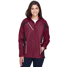 TT86W Team 365 Ladies' Dominator Waterproof Jacket (1756288909354)