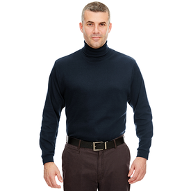 8516 UltraClub Adult Egyptian Interlock Long-Sleeve Turtleneck (1772206882858)